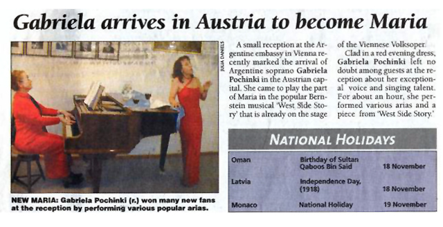 Diario Today Austria 13 11 2001